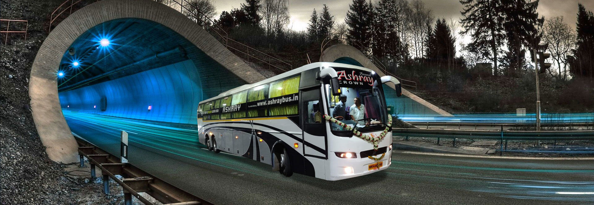 Online Bus Ticket Booking Ashray Travels
